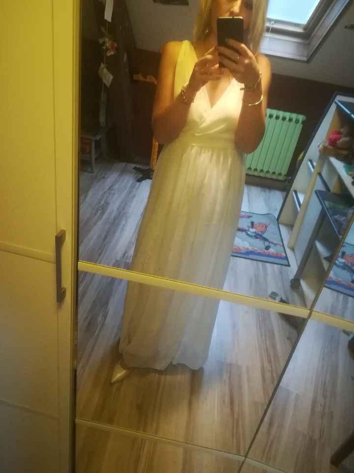Lendemain mariage tenue - 1
