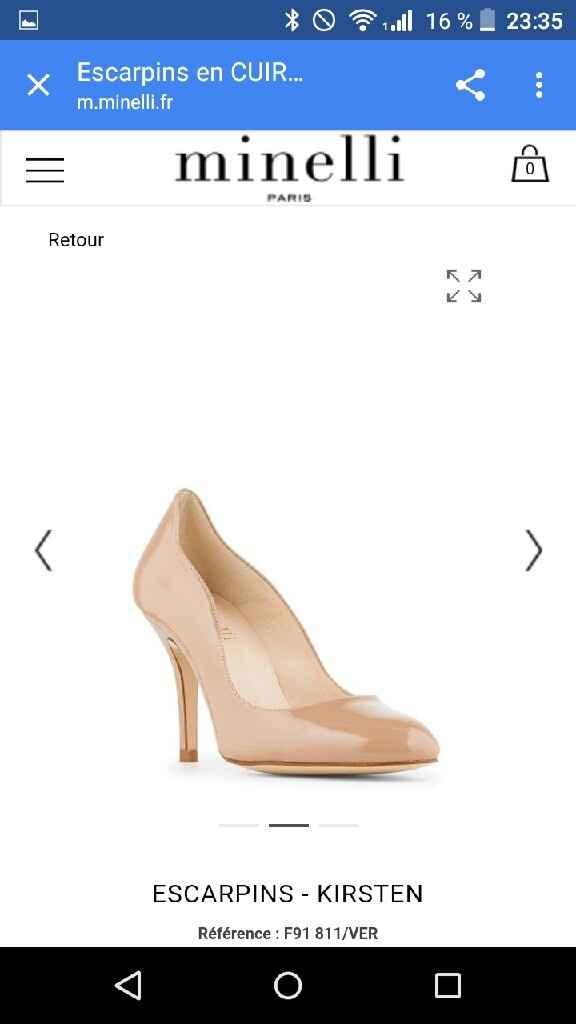 De quelle couleur sont vos chaussures? - 1