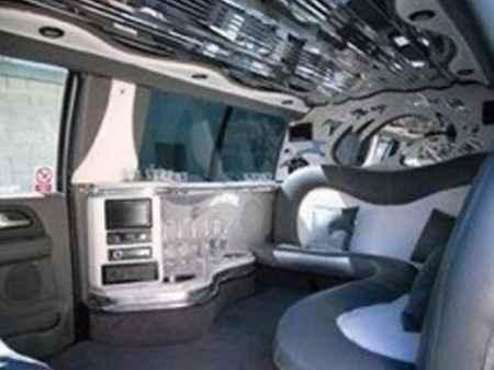 l interieur de la limousine