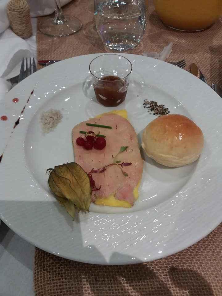 entrée foie gras fondantttt a soué