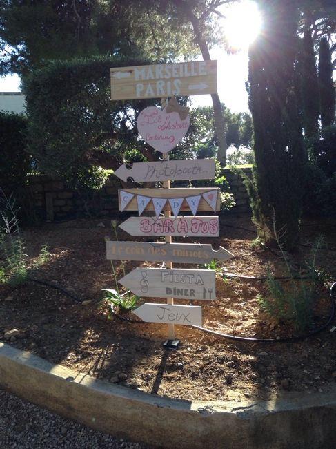 Bien-aimé Diy panneau direction et récup cagettes - Organisation du mariage  FJ73