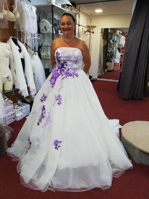 La robe de mariée : Blanc, nude ou colorée ? - 1
