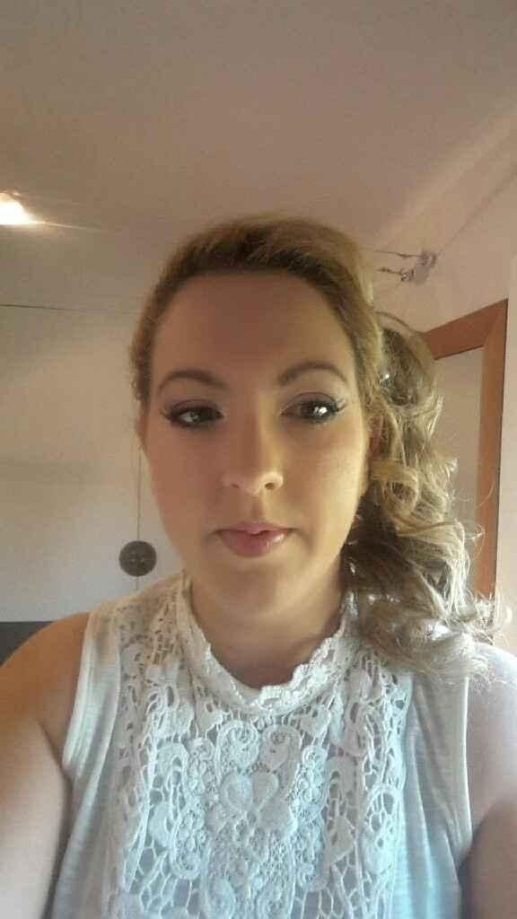 Essai coiffure et maquillage satisfaisant :-) - 2