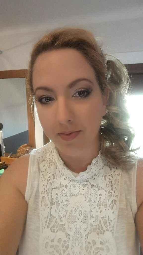 Essai coiffure et maquillage satisfaisant :-) - 4