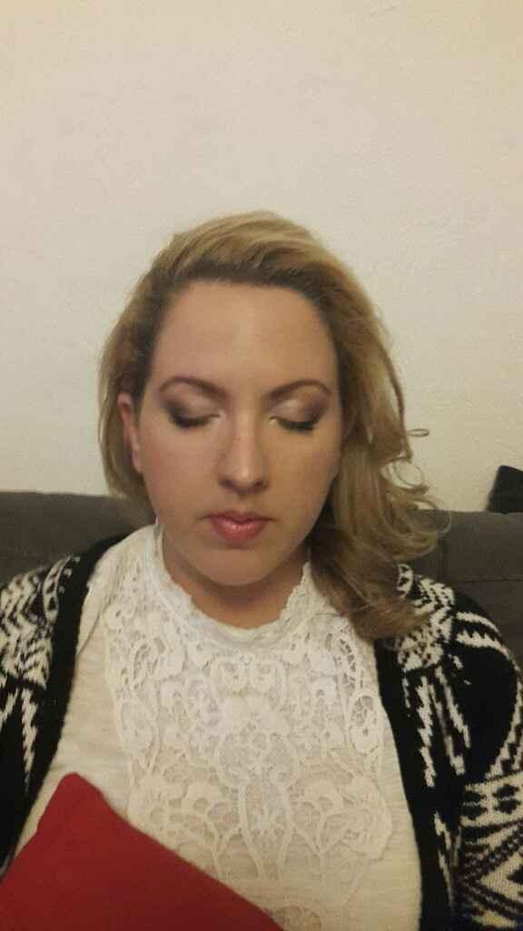 Essai coiffure et maquillage satisfaisant :-) - 6