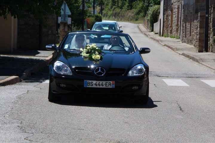 La voiture de la mariée - 1