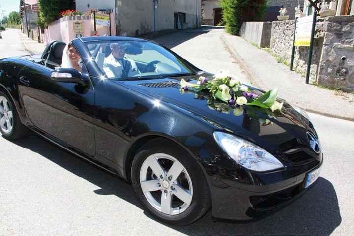 La voiture de la mariée - 2