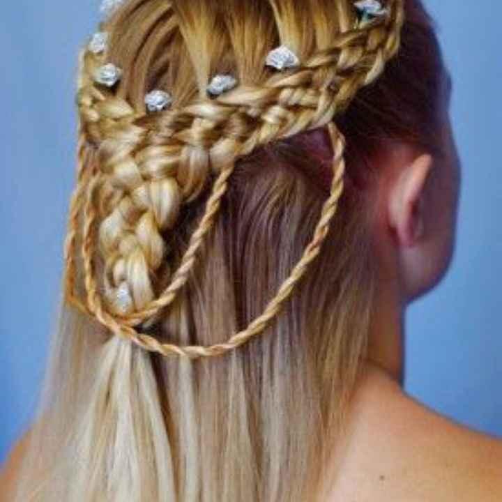 Essai coiffure et maquillage 🥰 - 2