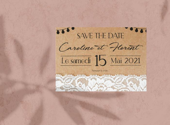 Save the date 3