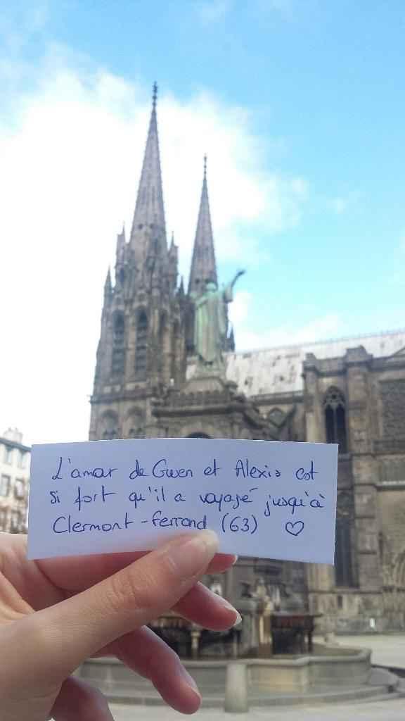 Voici ta love note pour Clermont !