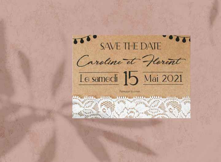 Mon save the date :D