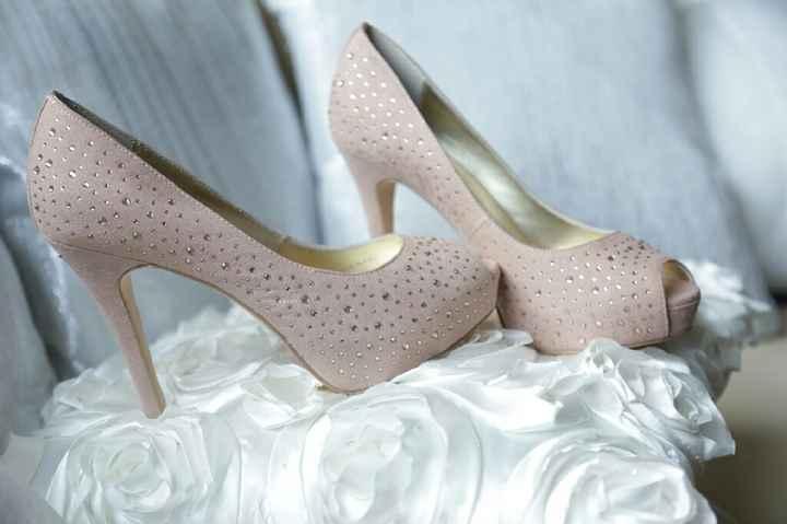 Chaussures rose poudré - 1