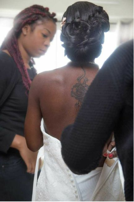 Mariée tatouée - 1