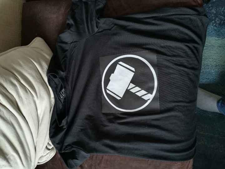 Tshirt photo de groupe mode Super Heros