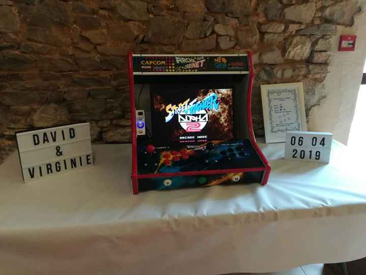 La borne d'arcade