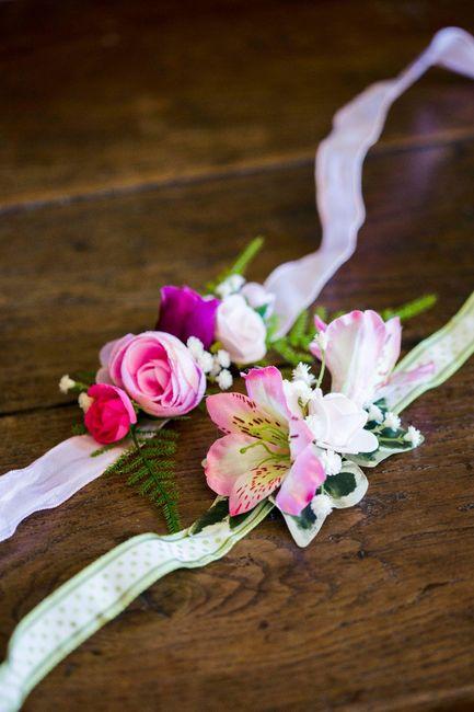 Bracelets de fleurs 3