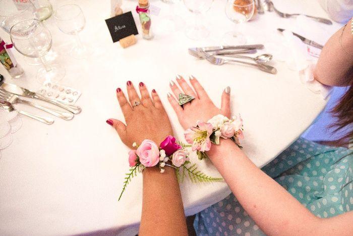 Bracelets de fleurs 4