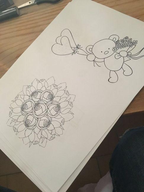 Diy cahier de coloriage enfant - 6