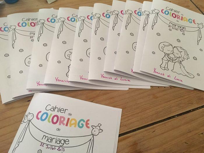 Diy Cahier De Coloriage Enfant Organisation Du Mariage Forum