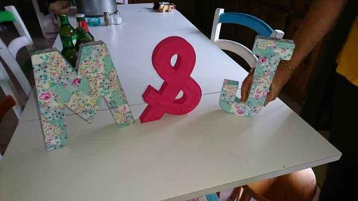 Vos lettres décorées ! - 1