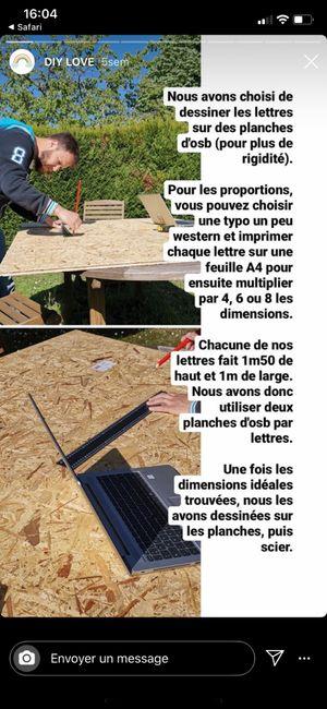 Lettres géante : comment procéder ? 3