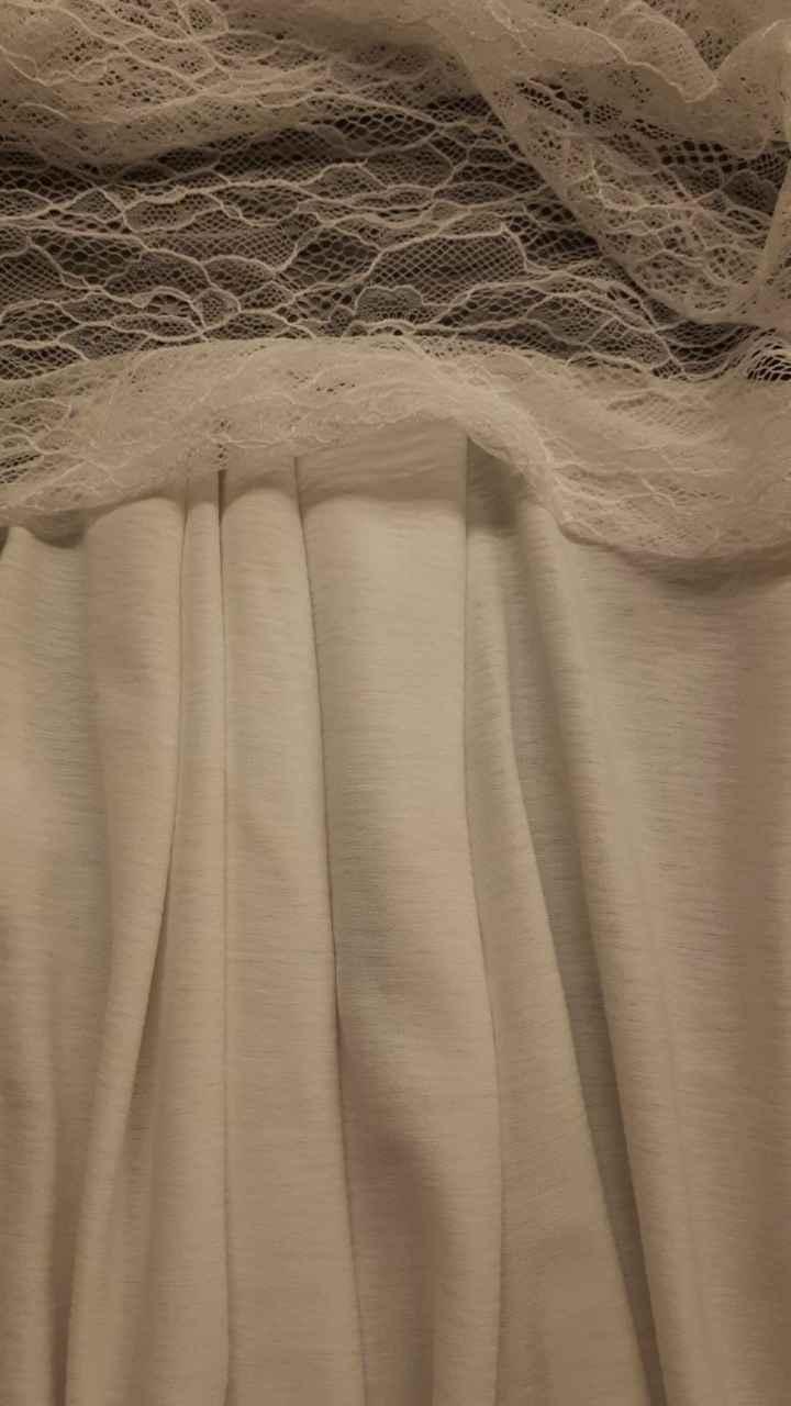 Les 3 tissus de ma robe - 1