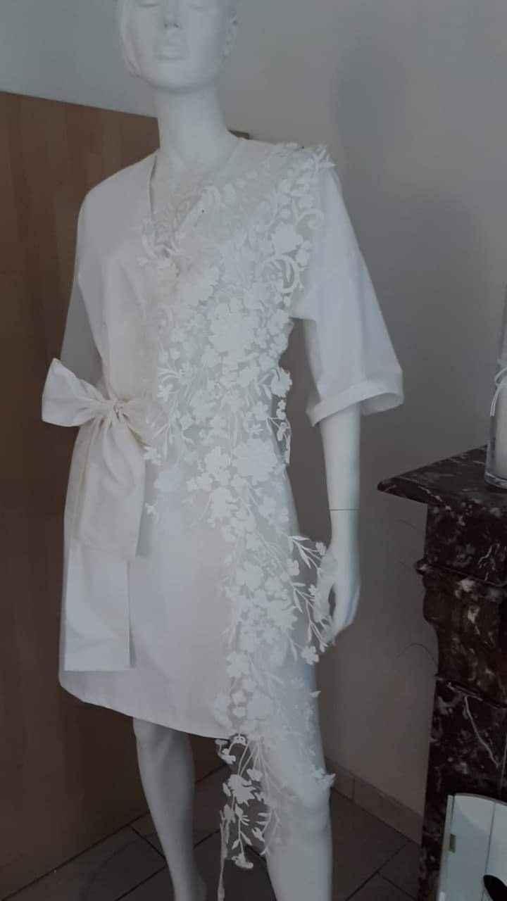 Les 3 tissus de ma robe - 3