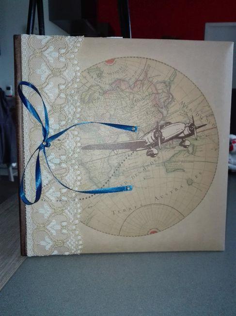 Livre D Or Mariage Theme Voyage Decoration Forum