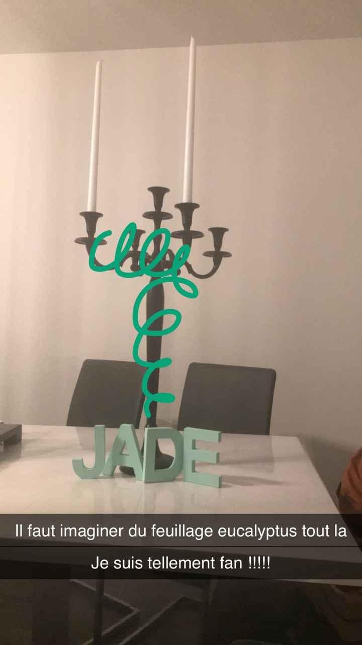 Aperçu décoration de table - 1