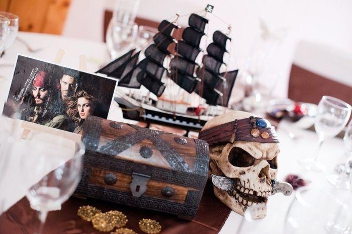 Mariage disney pirates des cara bes d coration forum - Decoration pirate des caraibes ...