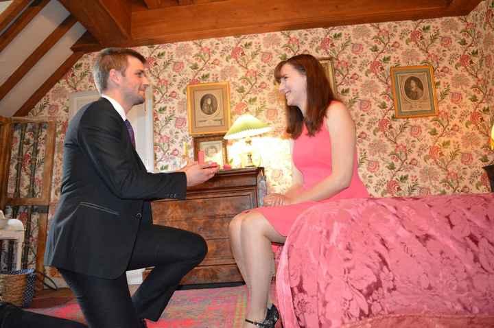 Demande en Mariage au Château de Troussay
