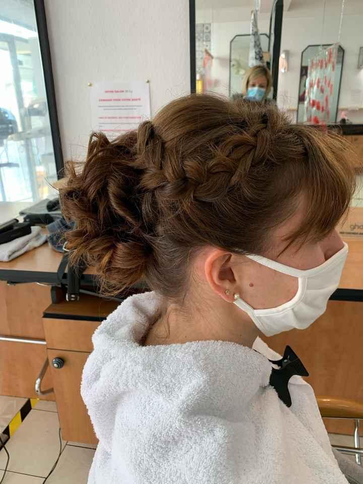 Essai coiffure trop contente 😉 - 3