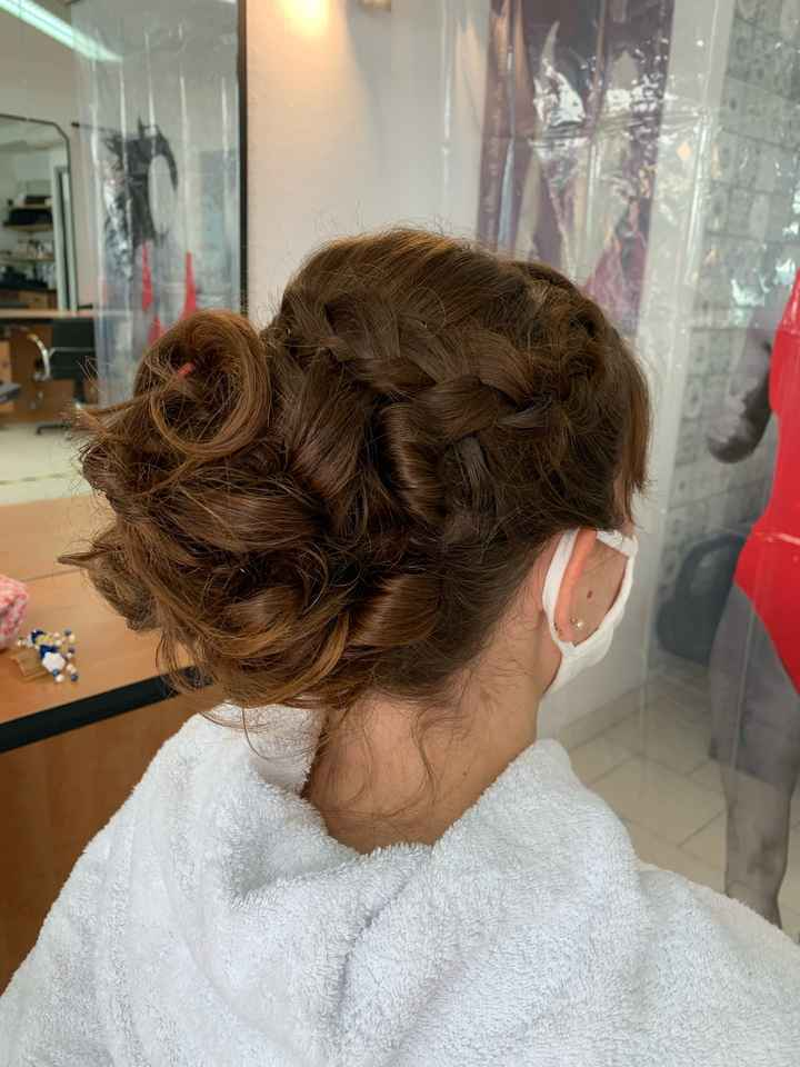 Essai coiffure trop contente 😉 - 4
