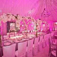 lumière d'ambiance à LED rose