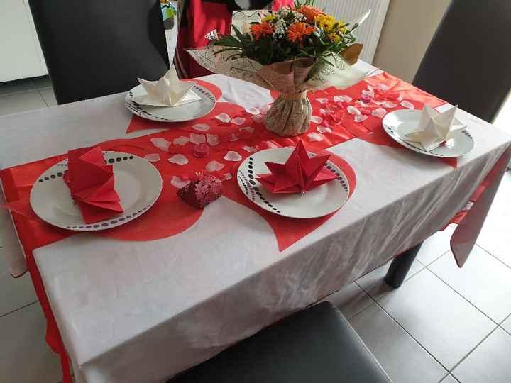 Ma table invitée - 1