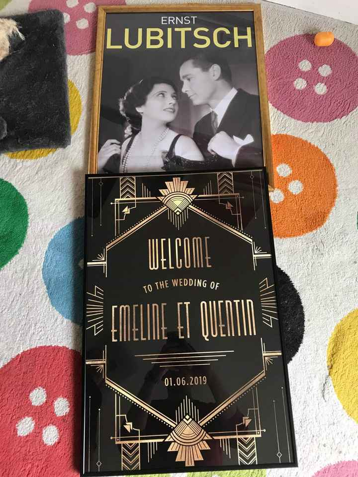 Mariage thème gatsby - 2