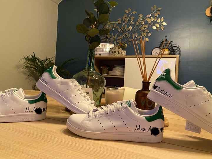 Baskets personnalisées - 1