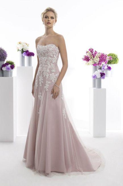 Quelle est la couleur de ma robe de mariée 👰🏻 3