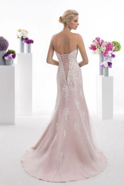 Robe de mariée rose 💕 2