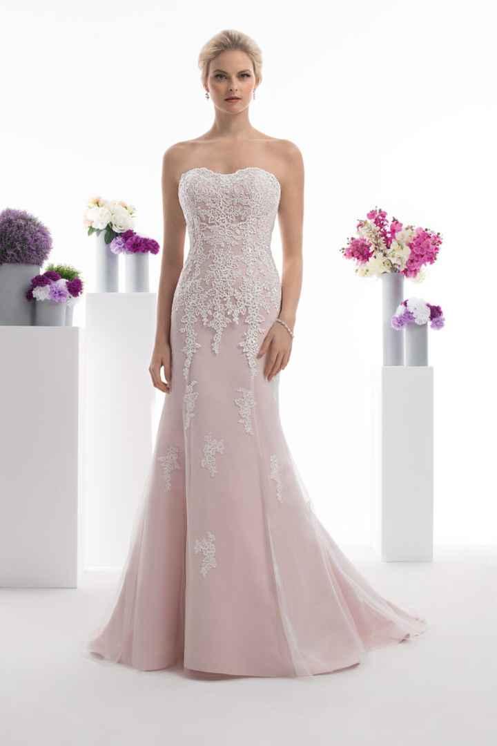 Robe de mariée rose 💕 - 1