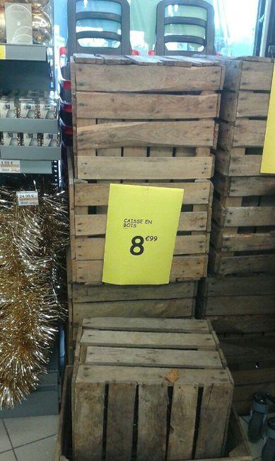 Cagettes de pommes et déco ! 3