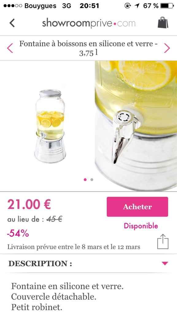 Fontaine a boisson - 1