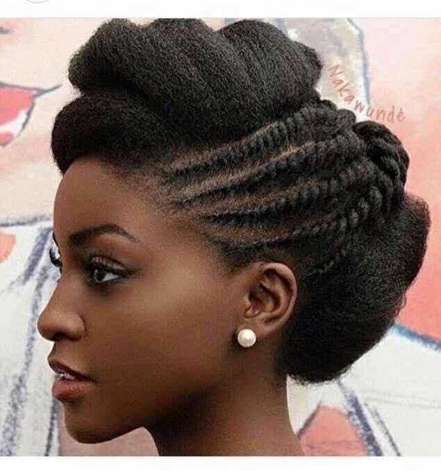 Cheveux afro ou métissé : montrez moi vos coiffure - 1