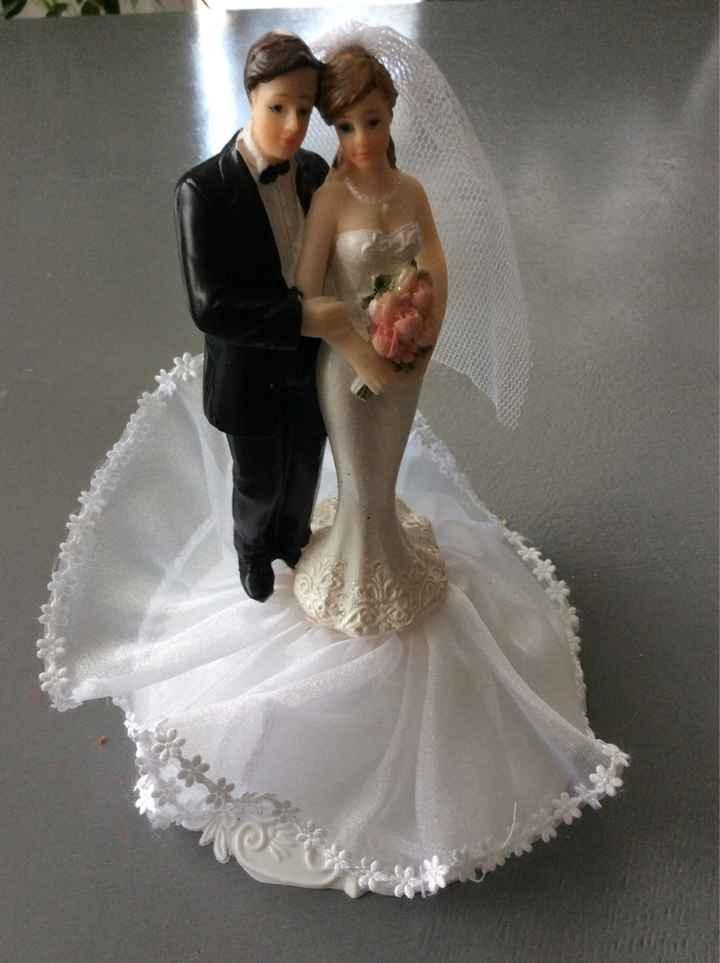 Gateau de mariage commandé - 2
