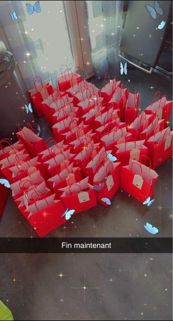 Préparation sacs invités 3