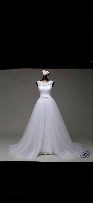 Vinted : robe de mariée. 16