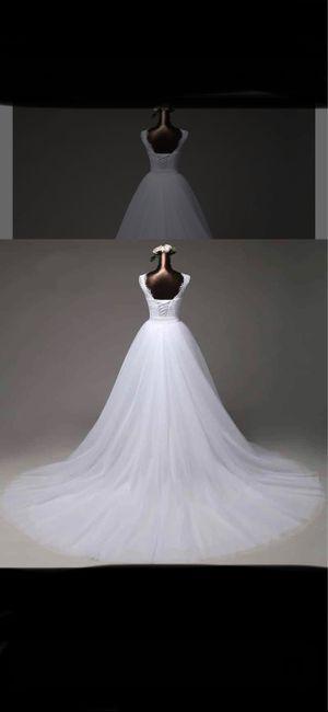 Vinted : robe de mariée. 17