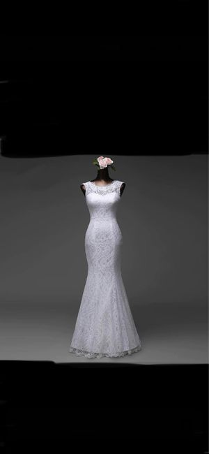 Vinted : robe de mariée. 18