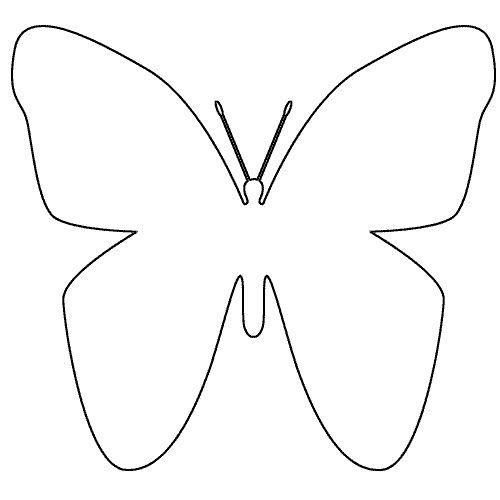 Des id es de papillons d coration forum - Modele de papillon ...