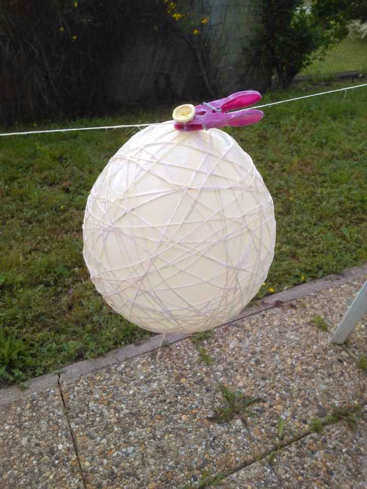 ballon en fil